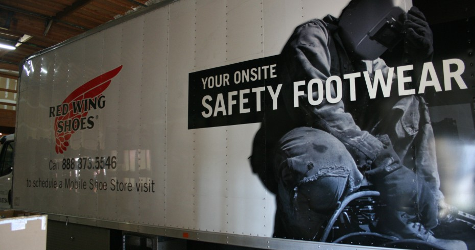 Red Wing Truck Graphics