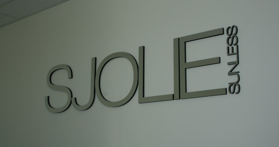 Sjolie Reception Sign